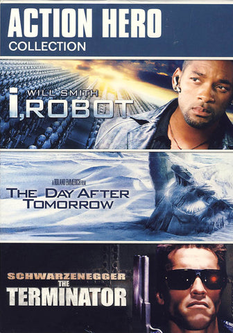 I, Robot / The Day after Tomorrow / The Terminator (Action Hero Collection) (Boxset) DVD Movie