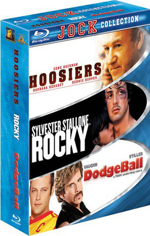 Hoosiers / Rocky / Dodgeball (Jock Collection) (Boxset) (Blu-ray) BLU-RAY Movie