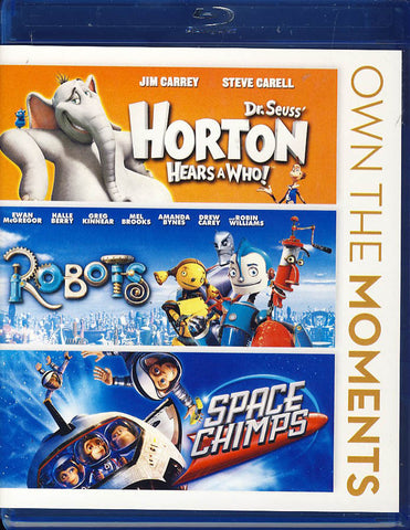 Dr. Seuss   Horton Hears a Who!  / Robots / Space Chimps (Blu-ray) (Boxset) BLU-RAY Movie
