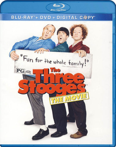 The Three Stooges (Blu-ray+DVD+Digital Copy)(Blu-ray) BLU-RAY Movie