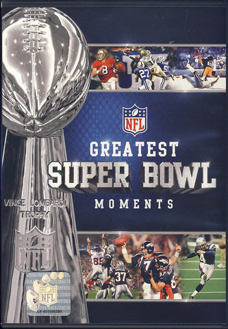 NFL - Greatest Super Bowl Moments - I-XLV DVD Movie