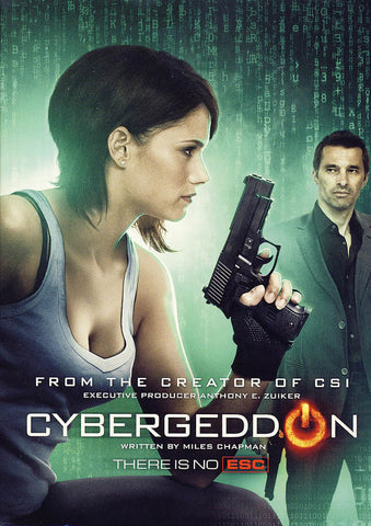 Cybergeddon (slipcover) DVD Movie