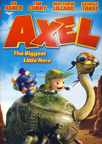 AXEL the biggest little hero DVD Movie