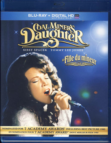 Coal Miner's Daughter (Blu-ray + Digital Copy + UltraViolet) (Blu-ray) (Bilingual) BLU-RAY Movie