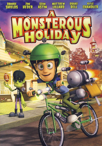 Monsterous Holiday (slipcover) DVD Movie