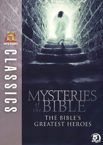 HISTORY Classics - Mysteries of the Bible - The Bibles Greatest Heroes DVD Movie