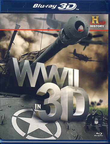WWII in 3D (Blu-Ray) BLU-RAY Movie
