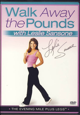 Walk Away the Pounds with Leslie Sansone - The Evening Mile Plus Legs DVD Movie