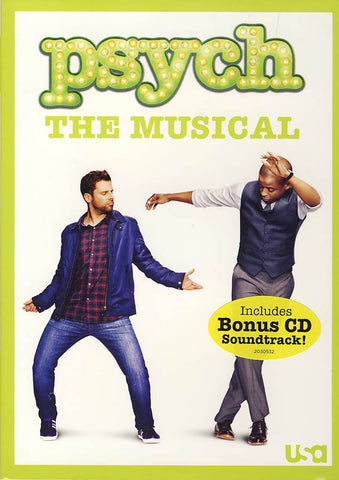 Psych: The Musical (w/ Bonus CD Soundtrack) DVD Movie