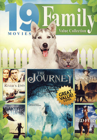 19 Movies Family Value Movie Collection (Boxset) DVD Movie