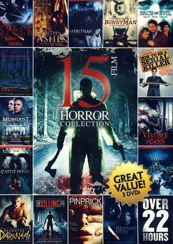 15 Film Horror Collection (Value Movie Collection) DVD Movie