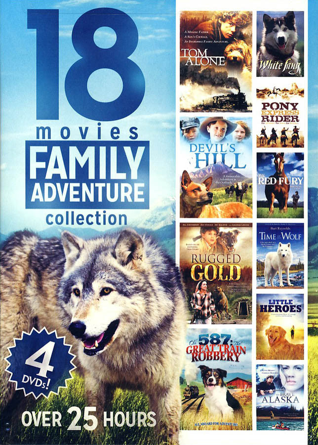 18 Movies Family Adventure Collection Value Movie DVD