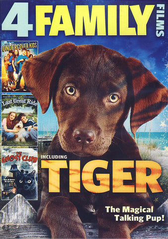 4-Films Family Collection (Featuring: Tiger)(Movie Value Collection) DVD Movie