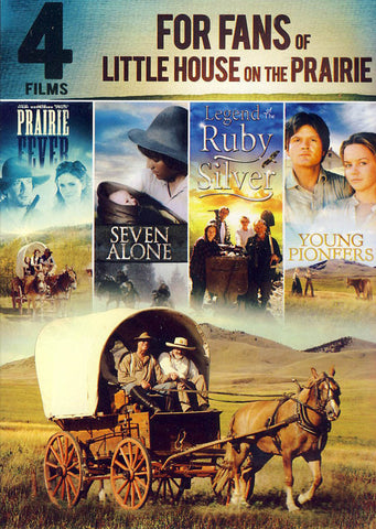 4-Films for Fans of Little House on the Prairie (Value Movie Collection) DVD Movie