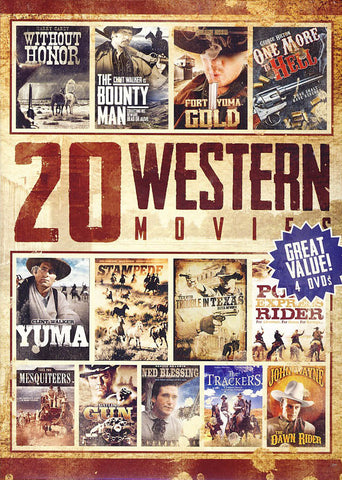 20 Movie Western Collection (Value Movie Collection) DVD Movie