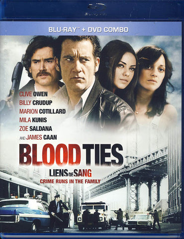 Blood Ties (Bilingual) (Blu-ray + DVD) (Blu-ray) BLU-RAY Movie