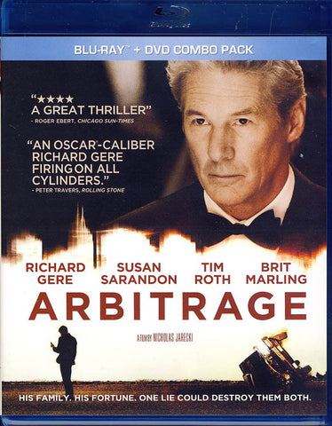 Arbitrage (Blu-ray + DVD) (Blu-ray) BLU-RAY Movie