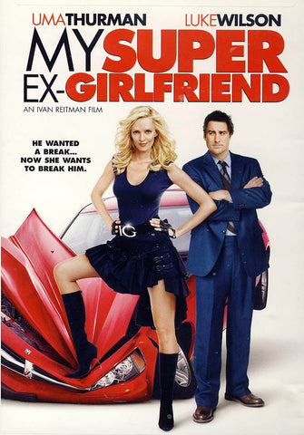 My Super Ex-Girlfriend DVD Movie