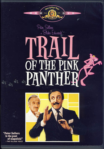 Trail of the Pink Panther (Black Cover) DVD Movie