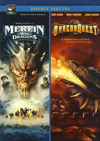 Dragonquest / Merlin & The War of the Dragons (Double Feature) DVD Movie