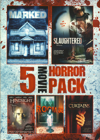 5 Movie Horror Pack (Value Movie Collection) DVD Movie