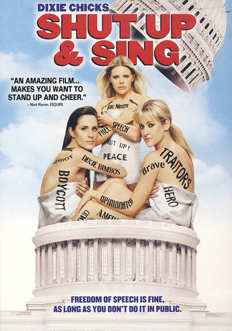 Dixie Chicks - Shut Up and Sing DVD Movie