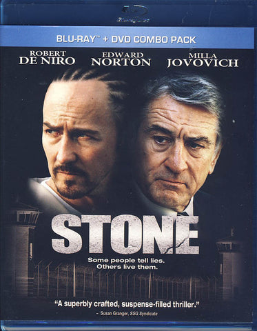 Stone (Blu-ray+DVD)(Bilingual)(Blu-ray) BLU-RAY Movie