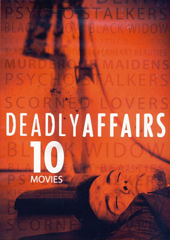 10-Movie Deadly Affairs (Value Movie Collection) DVD Movie