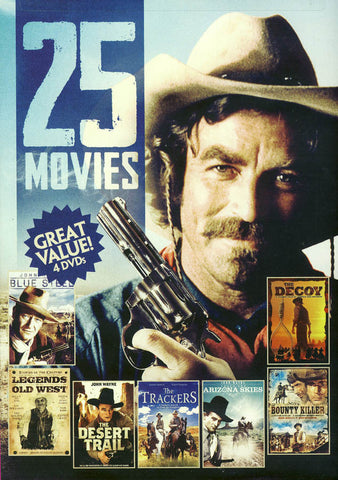 25 - Movie Western Collection (Great Value 4 DVDs) DVD Movie
