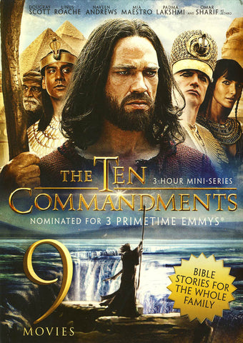 The Ten Commandments / Bible Stories(9 Movies Collection) (Boxset) DVD Movie