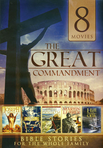 Bible Stories (The Great Commandment) (8 Movies) DVD Movie