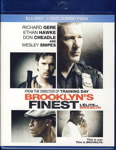 Brooklyn s Finest (Blu-ray+DVD)(Bilingual)(Blu-ray) BLU-RAY Movie