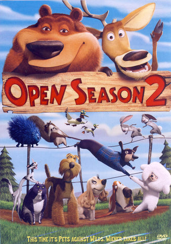 Open Season 2 DVD Movie