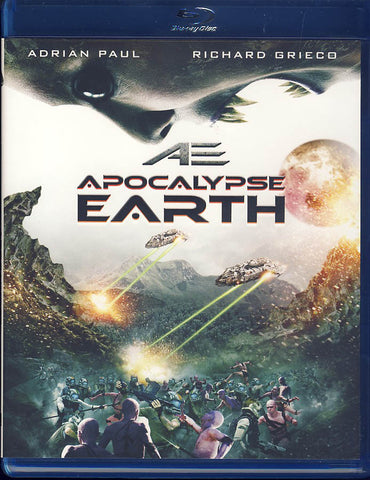 AE: Apocalypse Earth (Blu-ray) BLU-RAY Movie