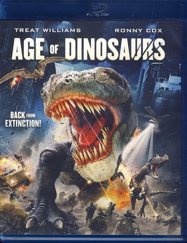 Age of Dinosaurs (Blu-ray) BLU-RAY Movie