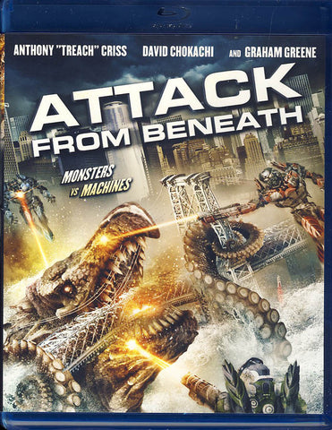 Attack From Beneath (Blu-ray) BLU-RAY Movie