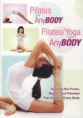 Pilates/Yoga For Anybody DVD Movie