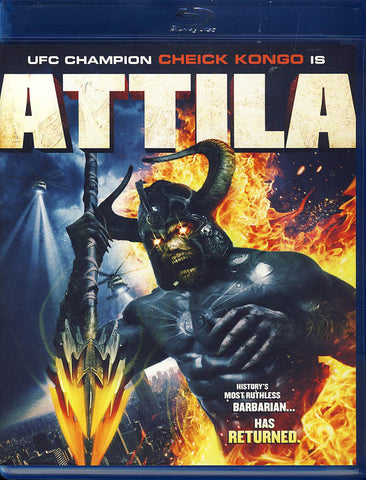 Attila (Blu-ray) BLU-RAY Movie