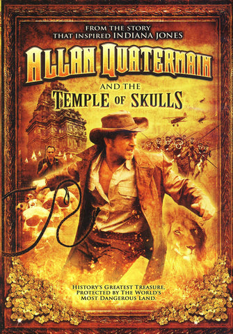 Allan Quatermain and the Temple of Skulls DVD Movie