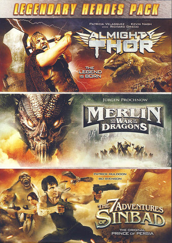 Legendary Heroes Pack (Value Movie Collection) DVD Movie