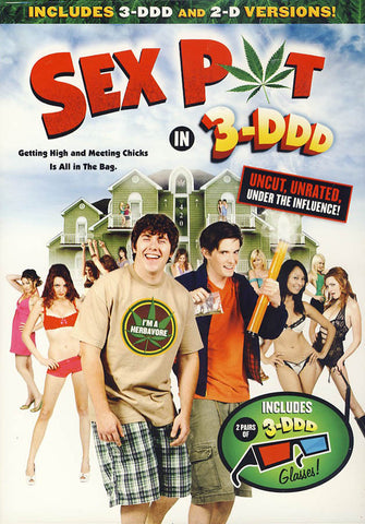 Sex Pot in 3-DDD (Includes both 3-DDD & 2-D versions) DVD Movie