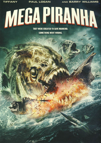 Mega Piranha DVD Movie