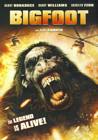 Bigfoot DVD Movie