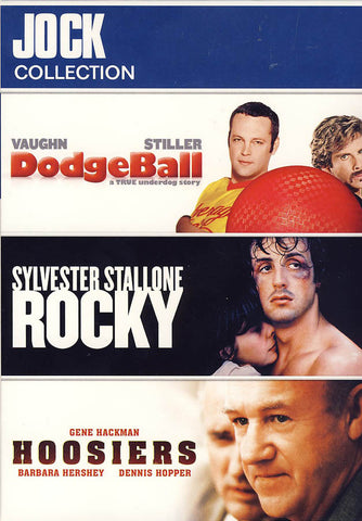 Jock Collection (Dodgeball/Rocky/Hoosiers) (Boxset) DVD Movie