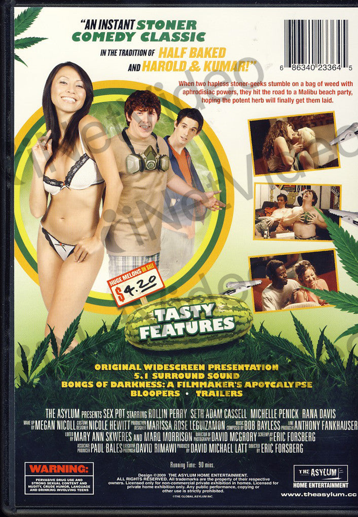 New movie dvd pot and sex