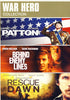 War Hero Collection (Patton/Behind Enemy Lines/Rescue Dawn)(Boxset) DVD Movie
