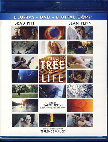 The Tree of Life (Blu-ray+DVD+Digital)(Blu-ray) BLU-RAY Movie