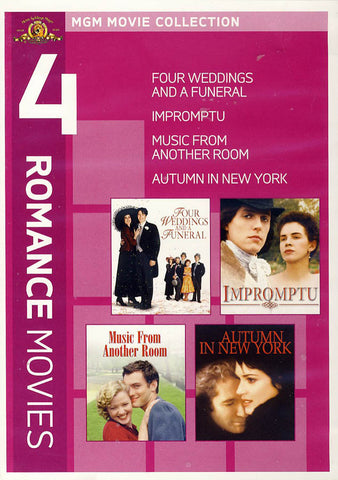 MGM Movie Collection - 4 Romance Movies DVD Movie