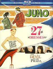 Juno / 27 Dresses / The Devil Wears Prada (Boxset) (Blu-ray)