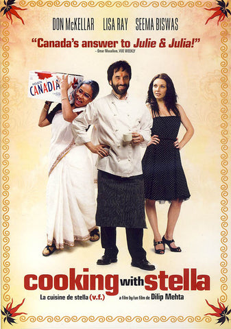 Cooking With Stella DVD Movie